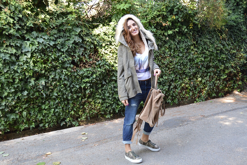 The Camouflage Look - Pull & Bear