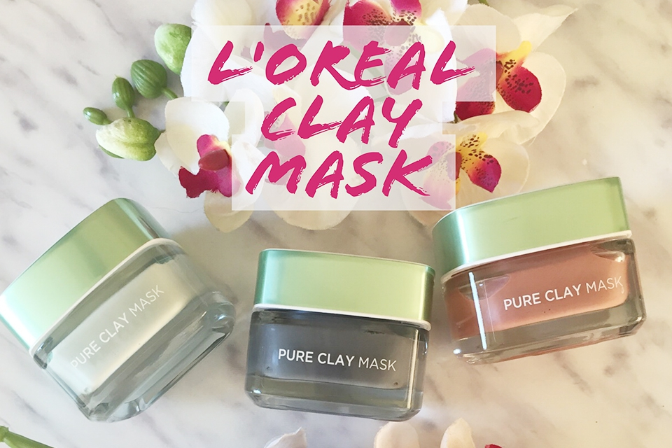 L'Oreal Paris Pure Clay Mask - Review