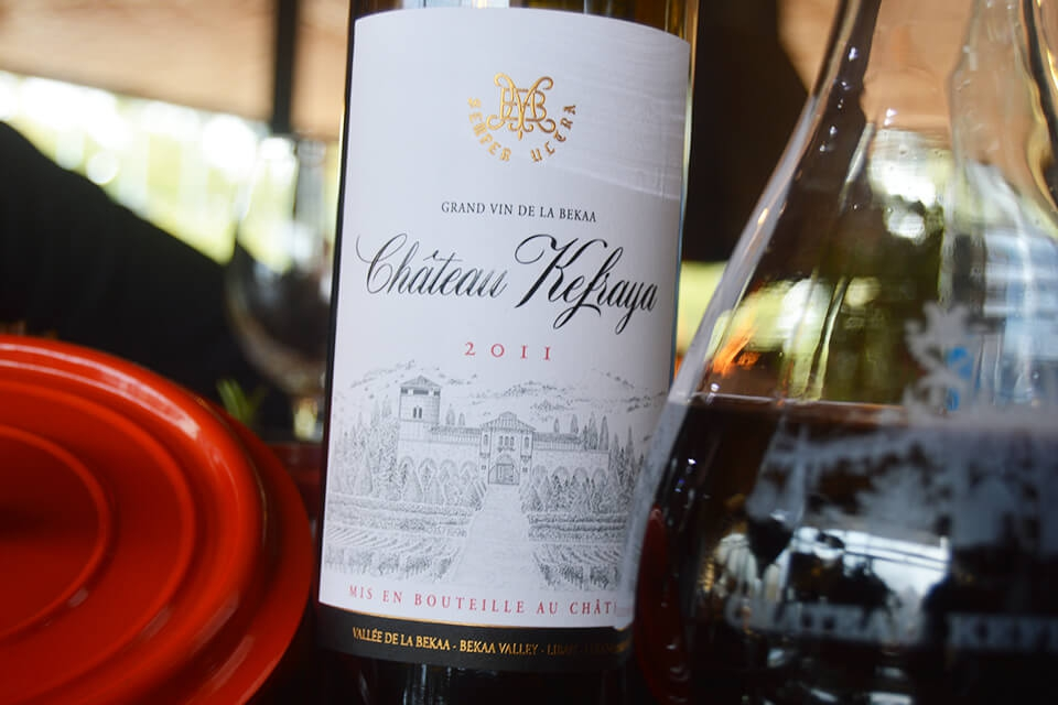When Food Meets Wine - Chateau Kefraya