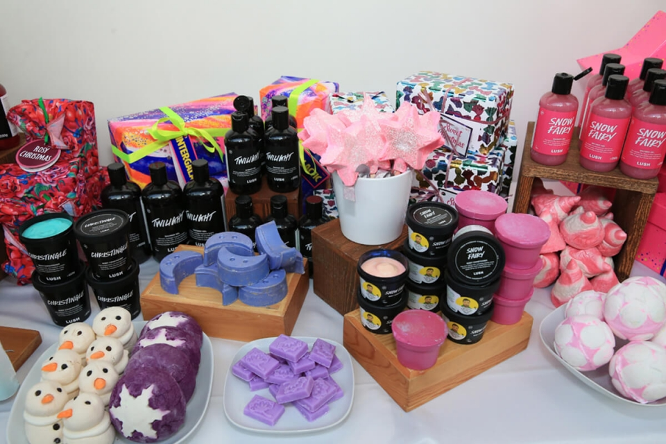 LUSH Lebanon Launching the Christmas Collection